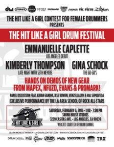 Hit Like A Girl Fest Promo